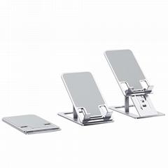 Desk metal alloy mount smartphone adjustable support tablet PC bracket