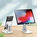 Smartphone stand desktop adjustable Aluminum alloy tablet mount