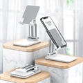 Aluminum alloy mobile phone mount,foldable cell phone and tablet stand