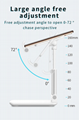 New Adjustable Telescopic Metal Tablet Stand Portable Foldable CellPhone holder
