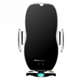 10W Wireless Charger Infrared Induction  Bracket Magic Mobile Phone Stand