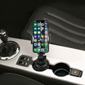 Long Arm and 360 degree Rotation Car Cup Phone Holder