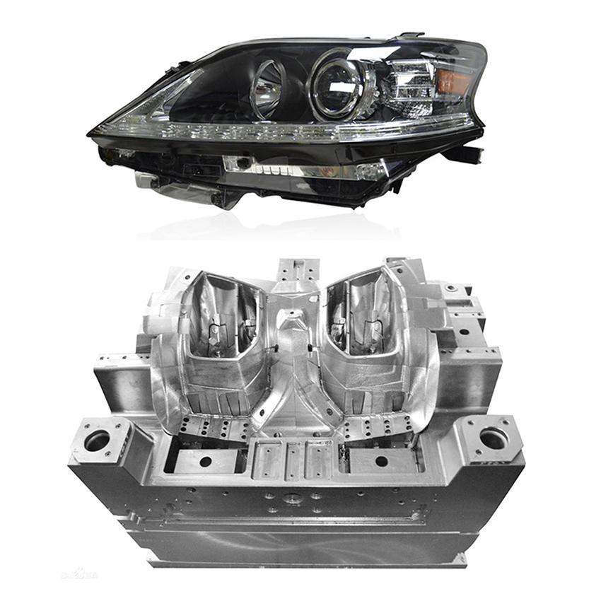 Auto light headlight mould Custom plastic injection mould