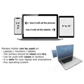 Laptop Side Mount Clip Magnetic Mobile Phone Holder