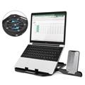 Notebook Phone Holder Adjustable Foldable Laptop Stand