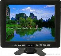 8 inch industry Plastic Digital Monitor