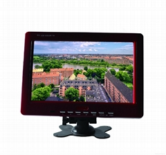 9.2 inch bus VOD system widescreen LED bus monitor