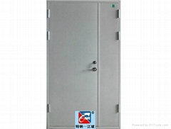 fireproof steel door