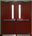 Ul Listed Hollow Metal Door With Fire Rated Gh02 Gh