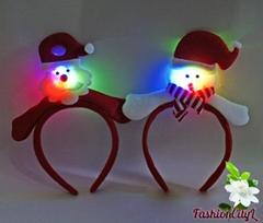 Christmas Head Hoop LED Shiny Head Hoop