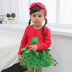 Christmas Children's Dress Christmas