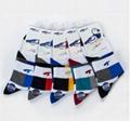 T604襪子批發 高檔運動常規款透氣孔刺繡中筒男士襪子純棉 2