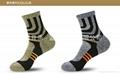 男士運動純棉襪中筒襪加厚冬季跑步襪 2