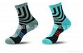 男士運動純棉襪中筒襪加厚冬季跑步襪 3