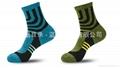 男士運動純棉襪中筒襪加厚冬季跑步襪 5