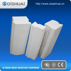 Alumina ceramic liner brick
