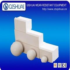92% Al2o3 best quality alumina ceramic liner bricks