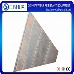Factory supplier bimetallic alloy wear resistant chromium carbide steel plate