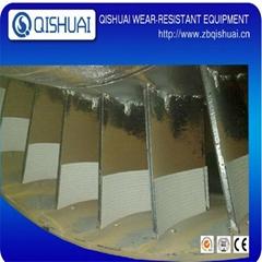 Alumina ceramic wear resistant liner plate