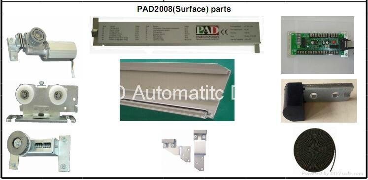 automatic sensor glass sliding door low price 3