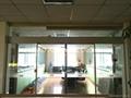 automatic sensor glass sliding door low price 2