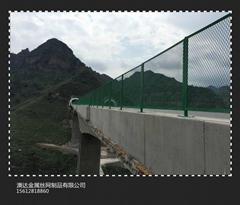青岛桥梁防抛网厂供应各种规格型号防抛网