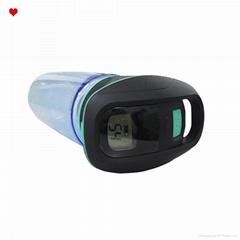 750 ml SOS signal UV sterilization led light sports water bottle