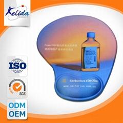 Custom logo brand gel mousepad
