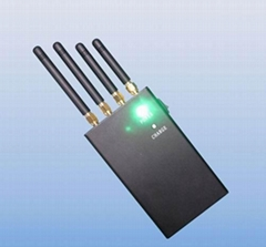 3g jammer portable - 4 Band 2W Portable WiFi, Cell Phone Signal Blocker