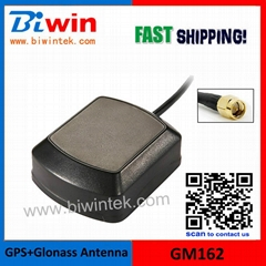 GPS Glonass Combo Antenna- GM162, External Active GPS Navigation Antenna