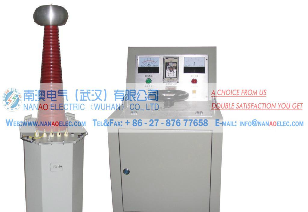 NAYDJ油浸式高電壓試驗變壓器耐壓成套裝置 1