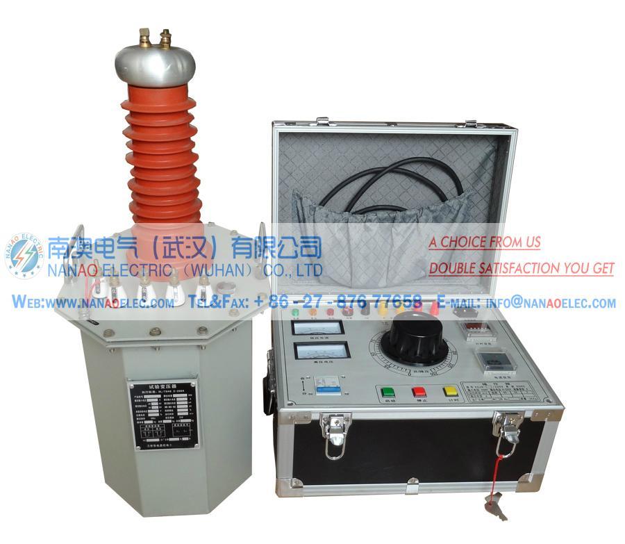 NAYDJ油浸式高電壓試驗變壓器耐壓成套裝置 4