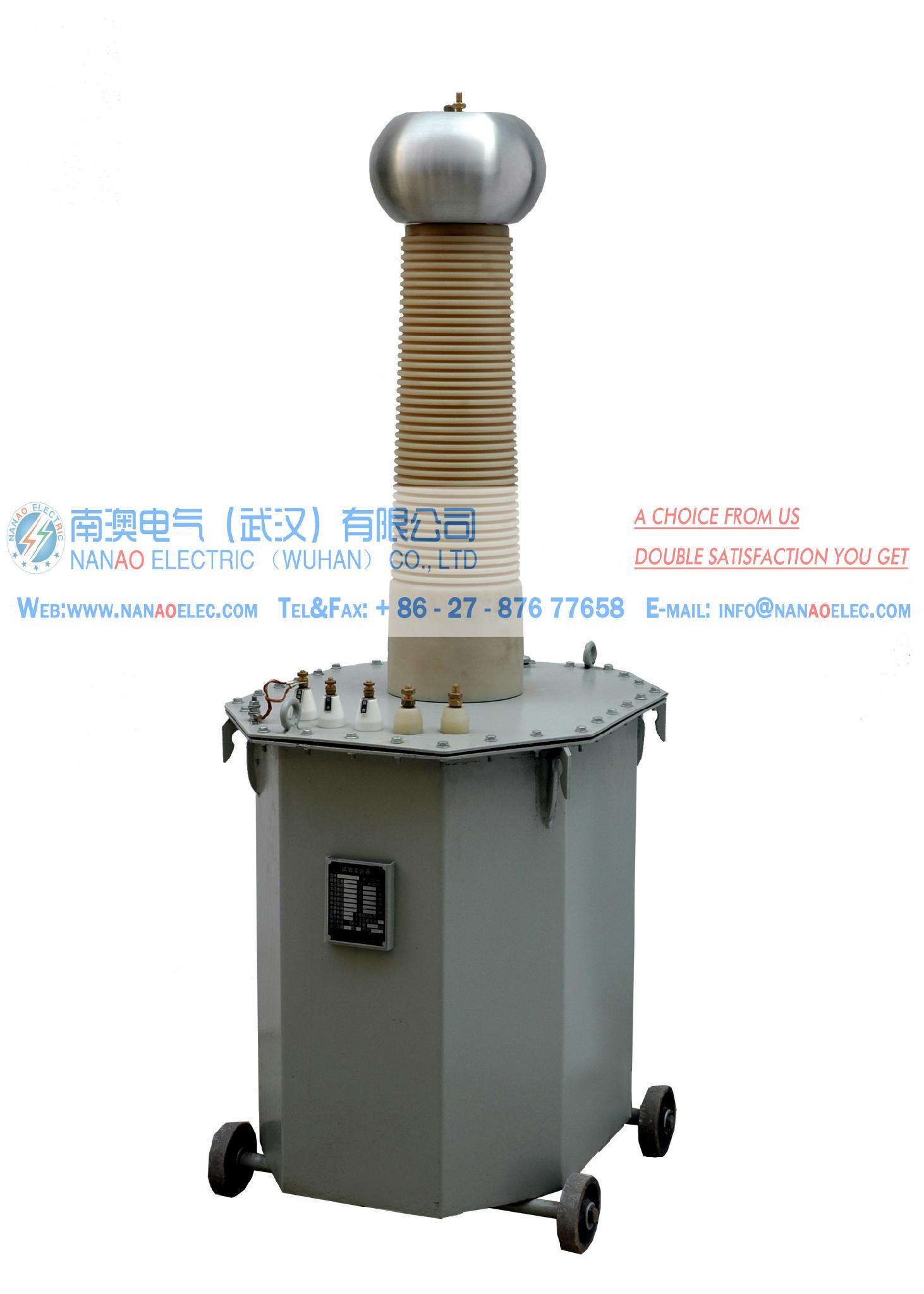 NAYDJ油浸式高電壓試驗變壓器耐壓成套裝置 5