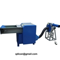 Fiber carding and pillow filling machine