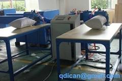 Polyester fiber carding and pillow
