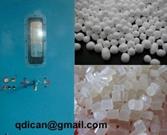 Polystyrene beads filling machine for Styrofoam EPS micro ball
