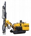 Hydraulic DTH Drill|Air Compression and Rock Drilling Integrated Drilling Rig 1