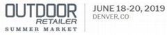 2019年6月美國丹佛國際戶外用品展覽會