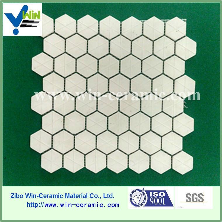 Chinese ceramic hexagon mosaic tiles 4