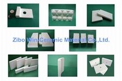 92% 95% Al2O3 Wear Resistant Alumina Ceramic Tile