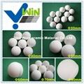 Inert ceramic ball high alumina pellet for ball mill grinding
