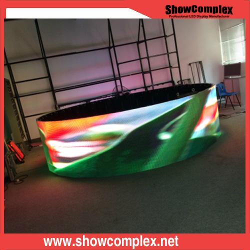 P3.91 Curved Indoor Full Color LED Screen 1