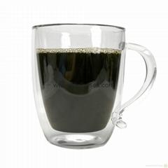 Nice Double Wall Glass Coffee Mug