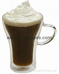 Nice glass coffee cups for sale
