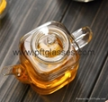 Highly Transparent Glass Tea Pots  4
