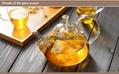 Heat Resistant Double Wall Borosilicate Glass Tea Pot Coffee Pot  5