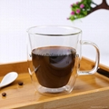 Light Weight Double Wall Glass Coffee