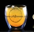 Insulated Eco-Friendly Double Wall Glass Coffee Mugs  4