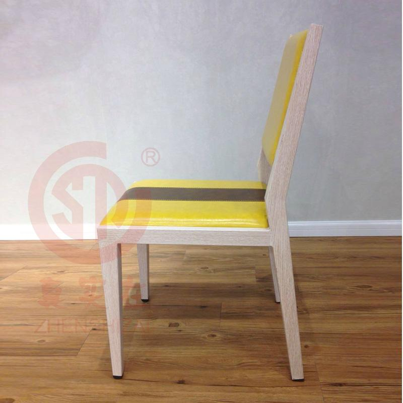 2017new style fresh PU leather dining chair 2