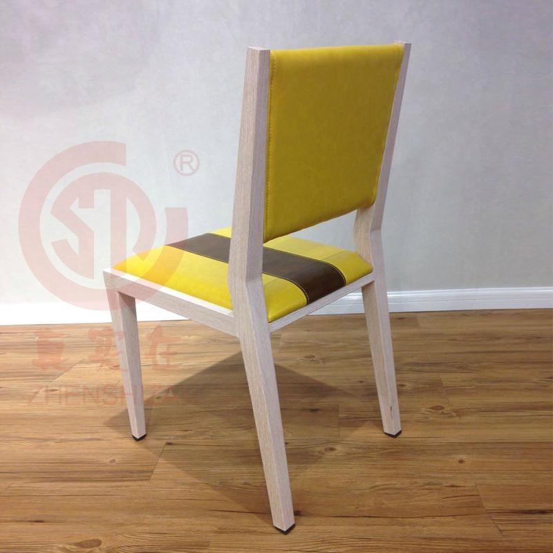 2017new style fresh PU leather dining chair 3